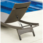 Pacific Casual Park Ridge Aluminum Chaise Lounge Image 6