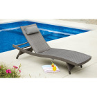 Pacific Casual Park Ridge Aluminum Chaise Lounge Image 3