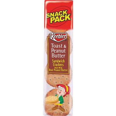 Keebler 1.8 Oz. Toast & Peanut Butter Sandwich Crackers