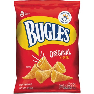 Bugles 3 Oz. Original Corn Snack