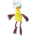Smart Savers 9 In. Squeaky Duck Dog Toy Image 2