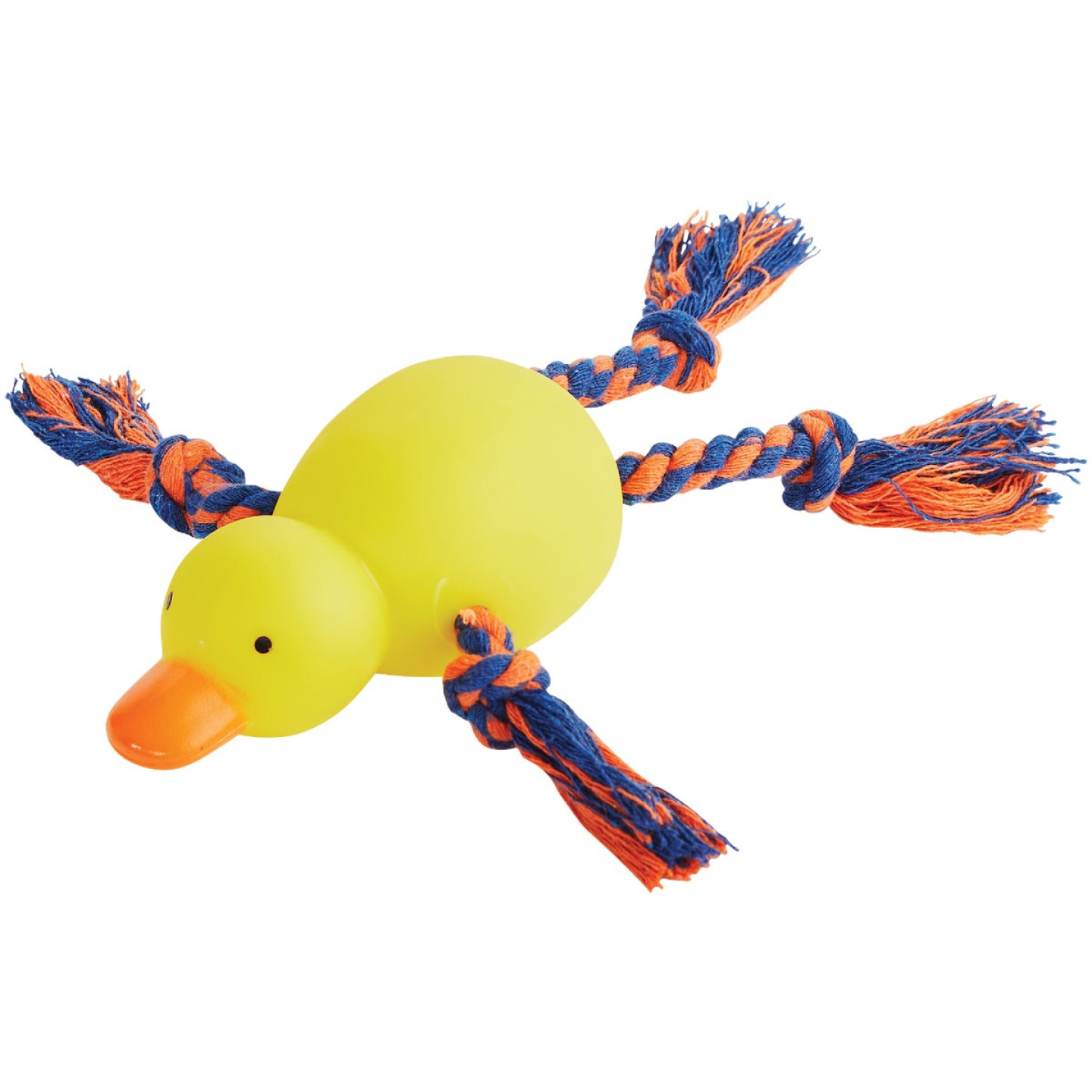 Smart Savers 9 In. Squeaky Duck Dog Toy Image 1